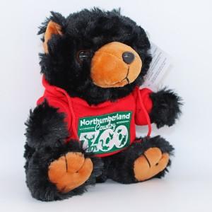Black Bear in Zoo Hoody
