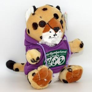 Cheetah in Zoo Hoody