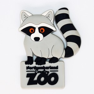 Raccoon Fridge Magnet