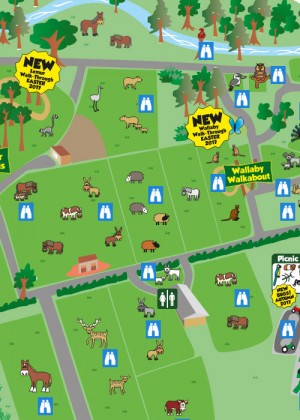 Interactive Zoo Map